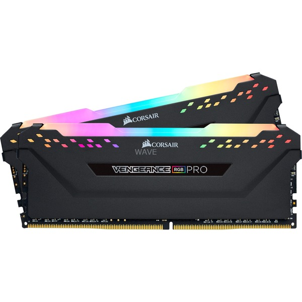 Kit Corsair DIMM 32 GB DDR4-3600, RAM nera, CMW32GX4M2Z3600C18, Vengeance RGB PRO